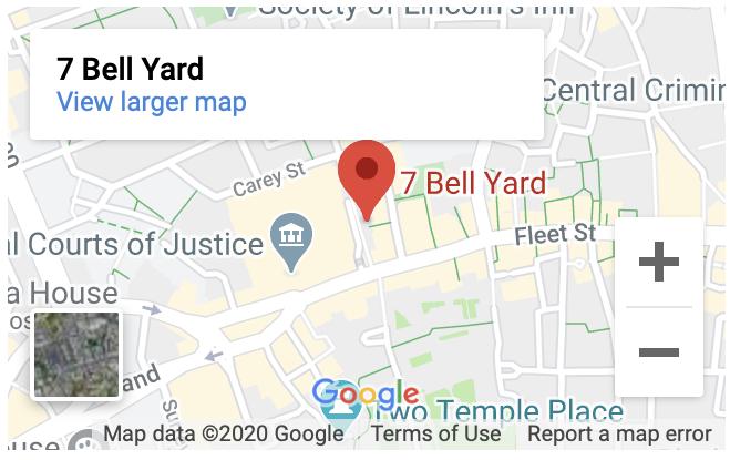London Finance Solutions 7 Bell Yard London WC2A 2JR
